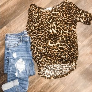 Zenana outfitters leopard print T